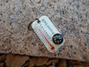薪ストーブをテントに置いたときの地面の温度