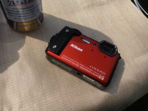 キャンプ用カメラにニコンW300