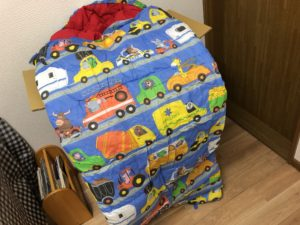 子供用寝袋