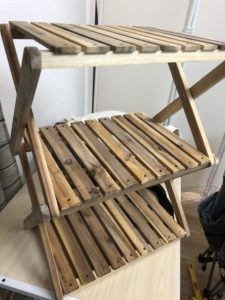 ハイランダー3段木製コーナンラック