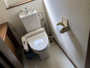 センターハウスのトイレ