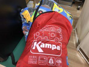子供用寝袋Kampa
