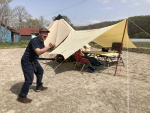 キャンプ王のプライベートキャンプ場完成