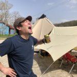 俺氏プライベートキャンプ場を作る第13話「苦節1年!ついに俺のキャンプ場オープン!」